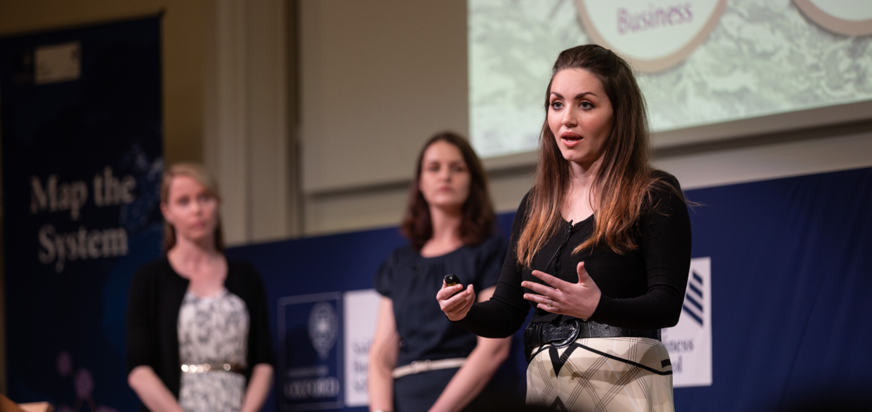Daughters, University of Oxford presenting